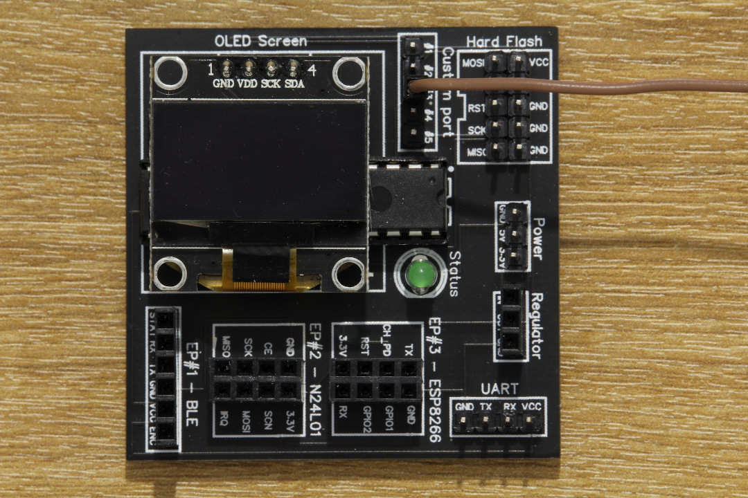 DVID board side connection